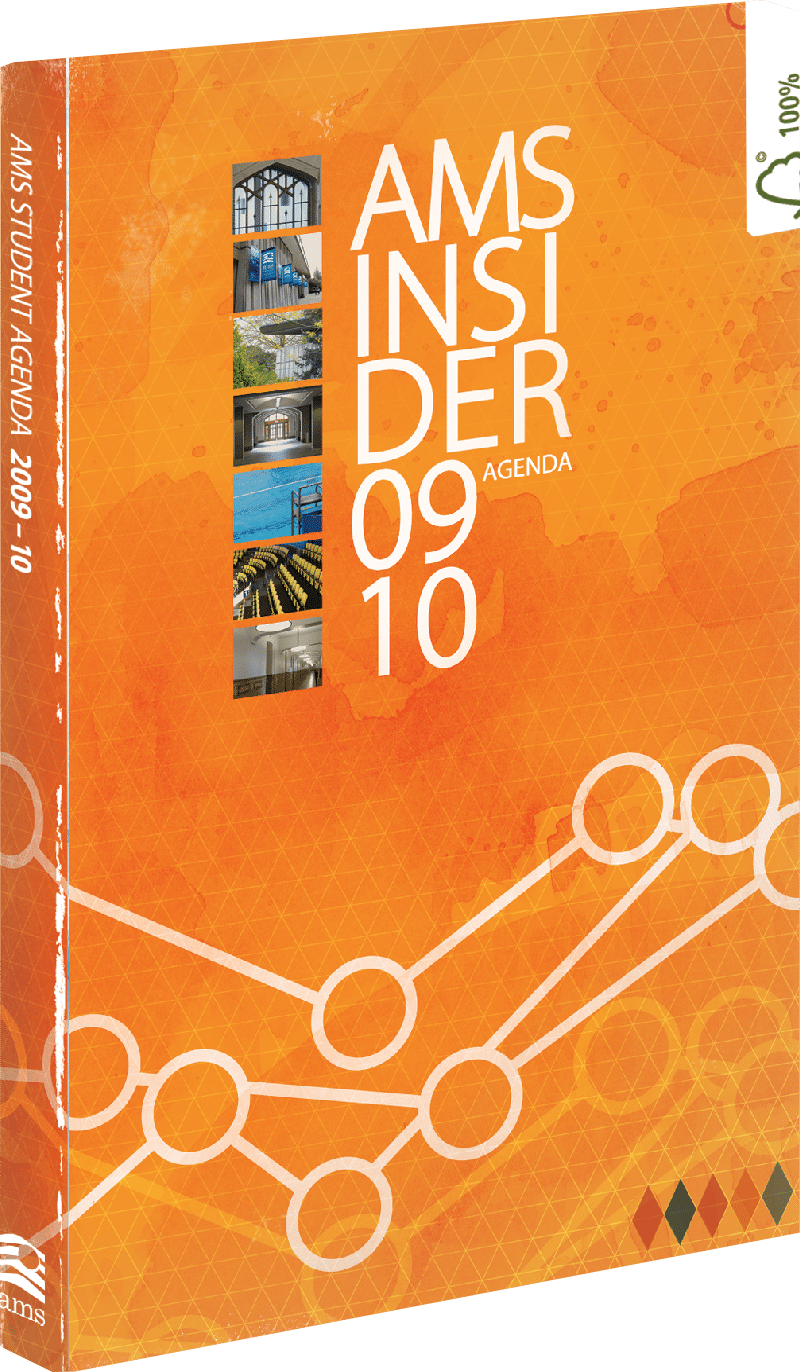 2009-2010 cover of the AMS Insider